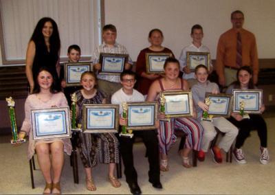 Annual spelling bee winners