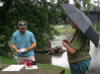 Walking tour features watershed specialist