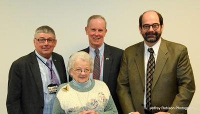 Blair County Commissioners with Peggy Fields