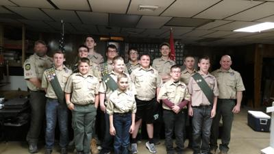 Troop 24 holds Court of Honor