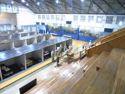 Gym at SCI Huntingdon