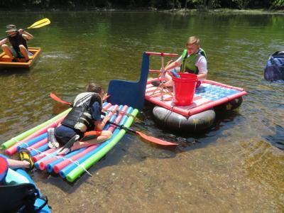 Scouts float