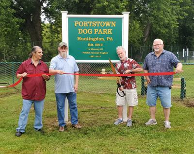 Portstown Dog Park dedicated