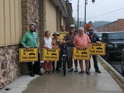 Active Transportation Committee signs