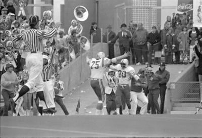 Lyell Bremser's call of Johnny Rodgers' punt return lives on as 'national anthem' of Husker football