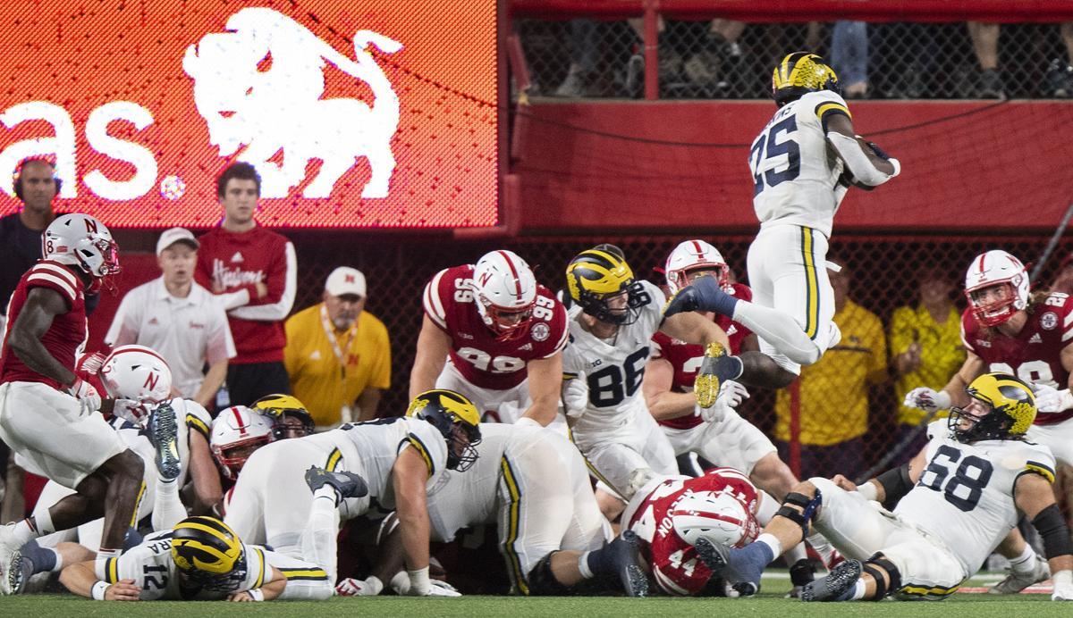 Michigan vs. Nebraska, 10.9