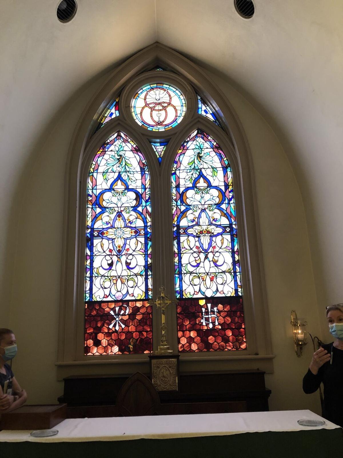 Tiffany Altar Window