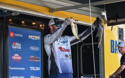 Sumrall sits in second place at Bassmaster