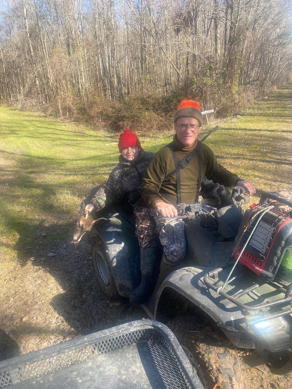 'Just an amazing feeling,' Edwards, 11, says about special deer hunt with granddad
