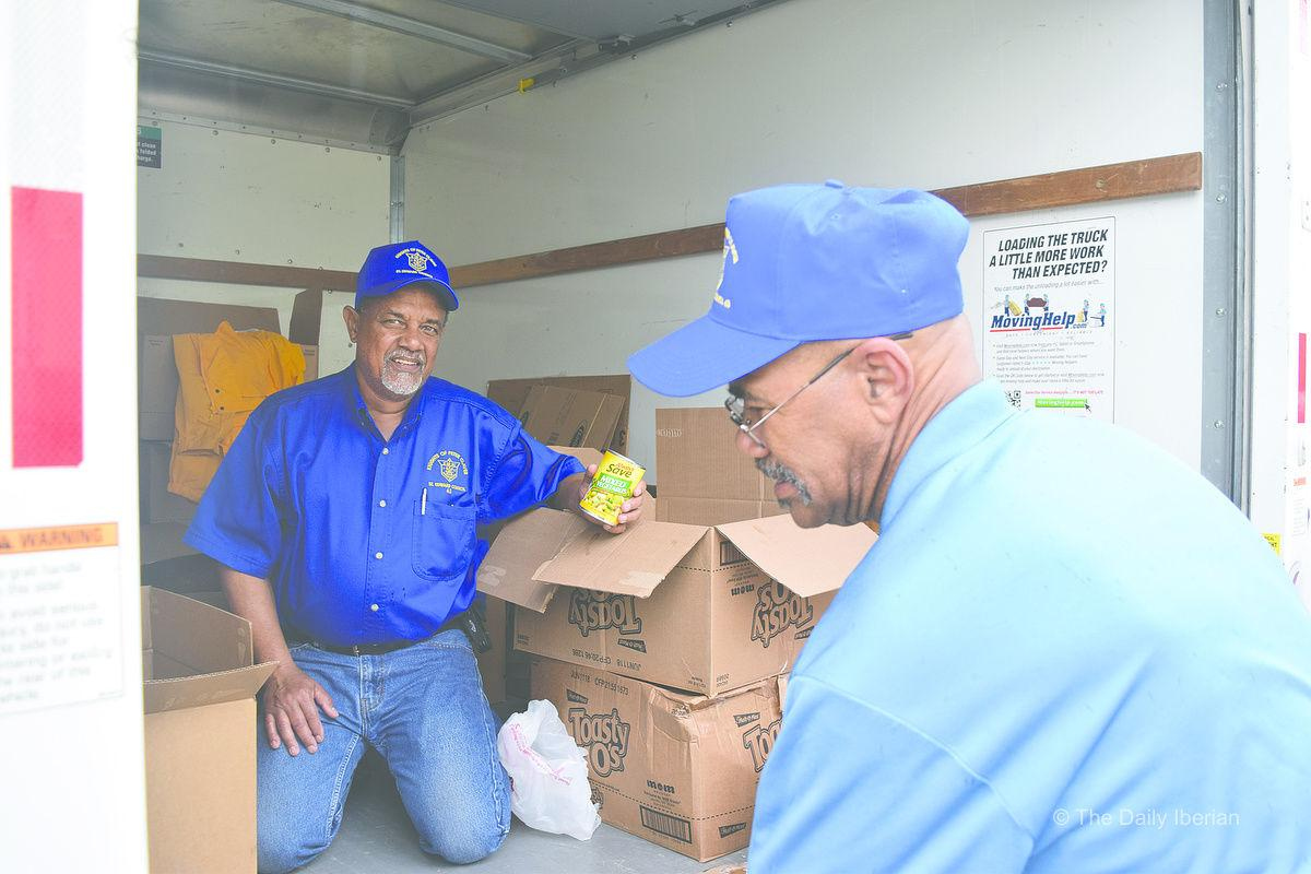 Donations delivered for total of 12,600 lbs.