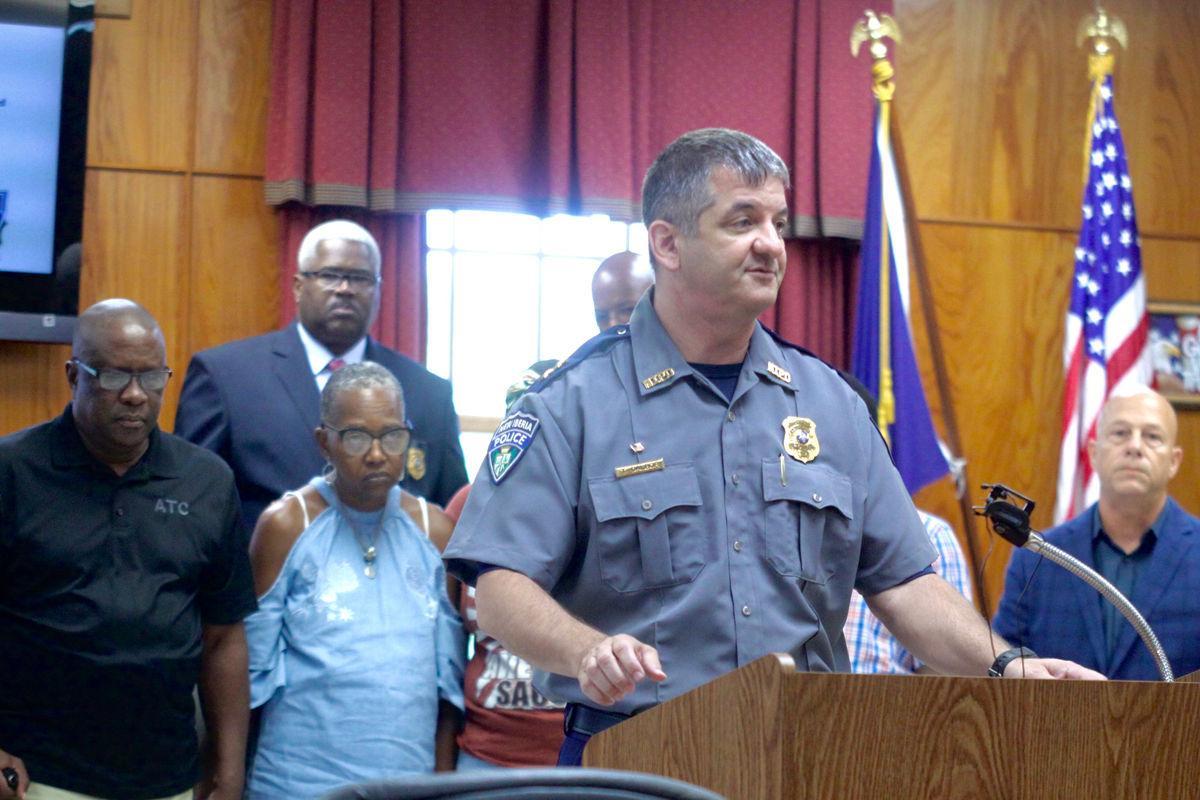 Arrest made in Lewis murder case