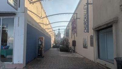 STREET BEAT: Church Alley donated to city in 1837 with stipulation it remain open for view of St. Peter's Catholic Church