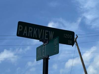 Parkview Drive located in the heart of New Iberia