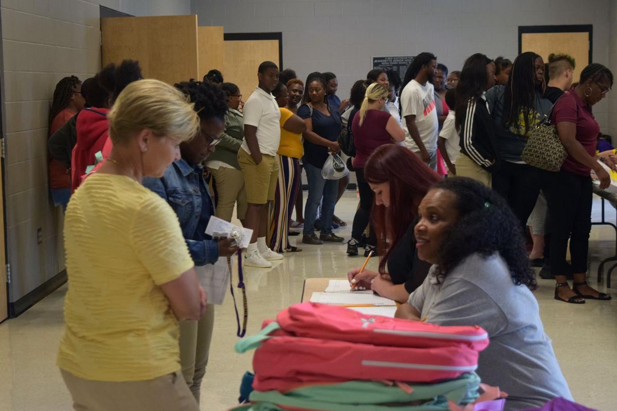 Mims Foundation donates backpacks, supplies Jeanerette students