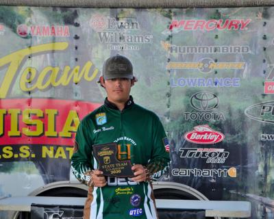 Neuville overcomes tough fishing on Toledo Bend