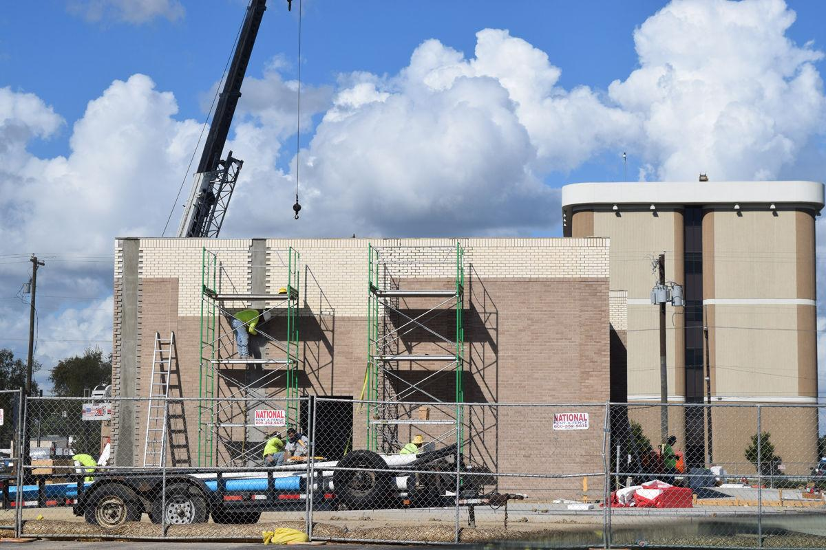 Construction proceeding apace at Chick-fil-A