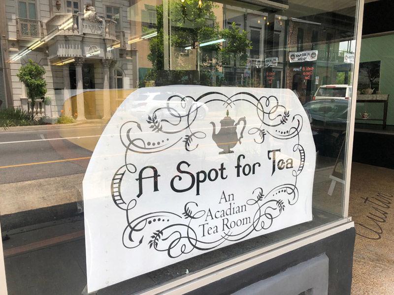 'A Spot for Tea'