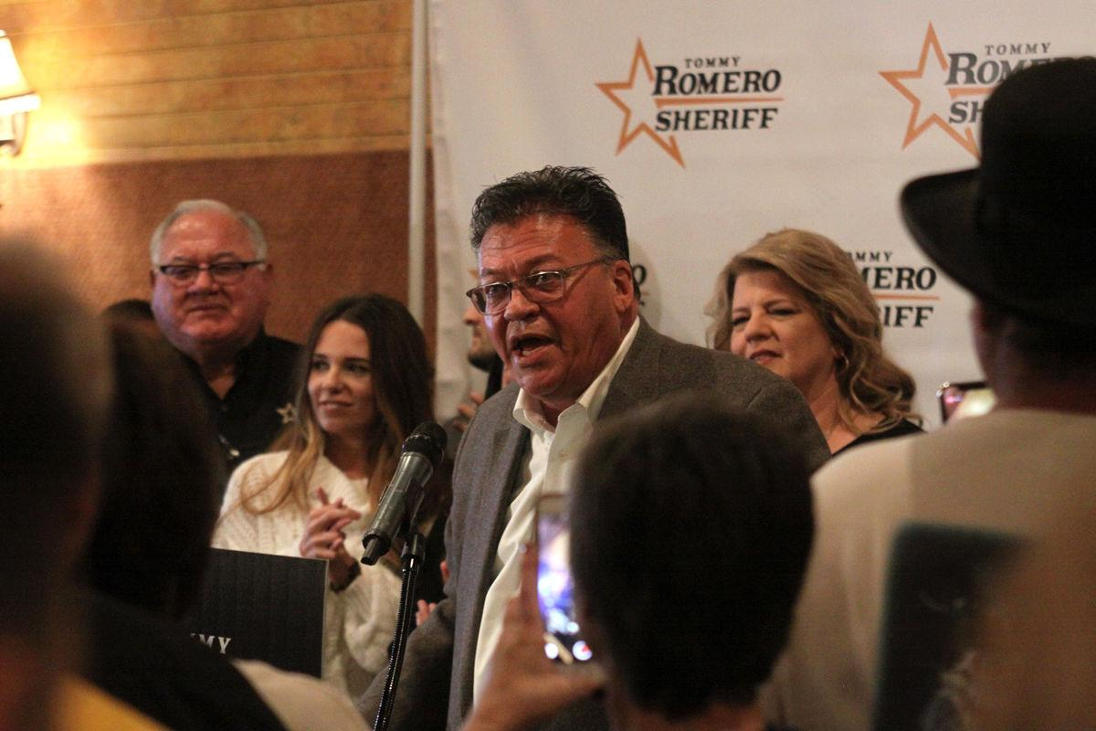 Romero is new sheriff