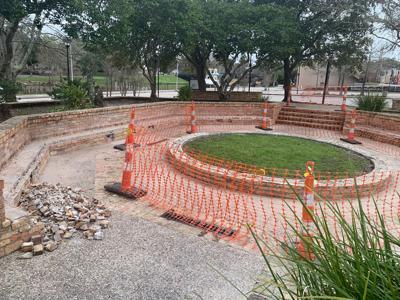 Construction begins on veterans memorial
