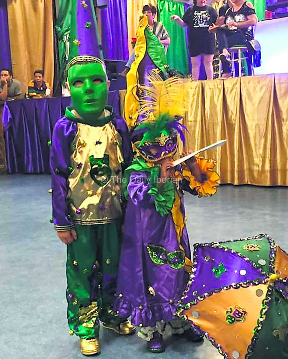Kids have fun for Mardi Gras  sc 1 st  The Daily Iberian : mardi gras kids costume  - Germanpascual.Com