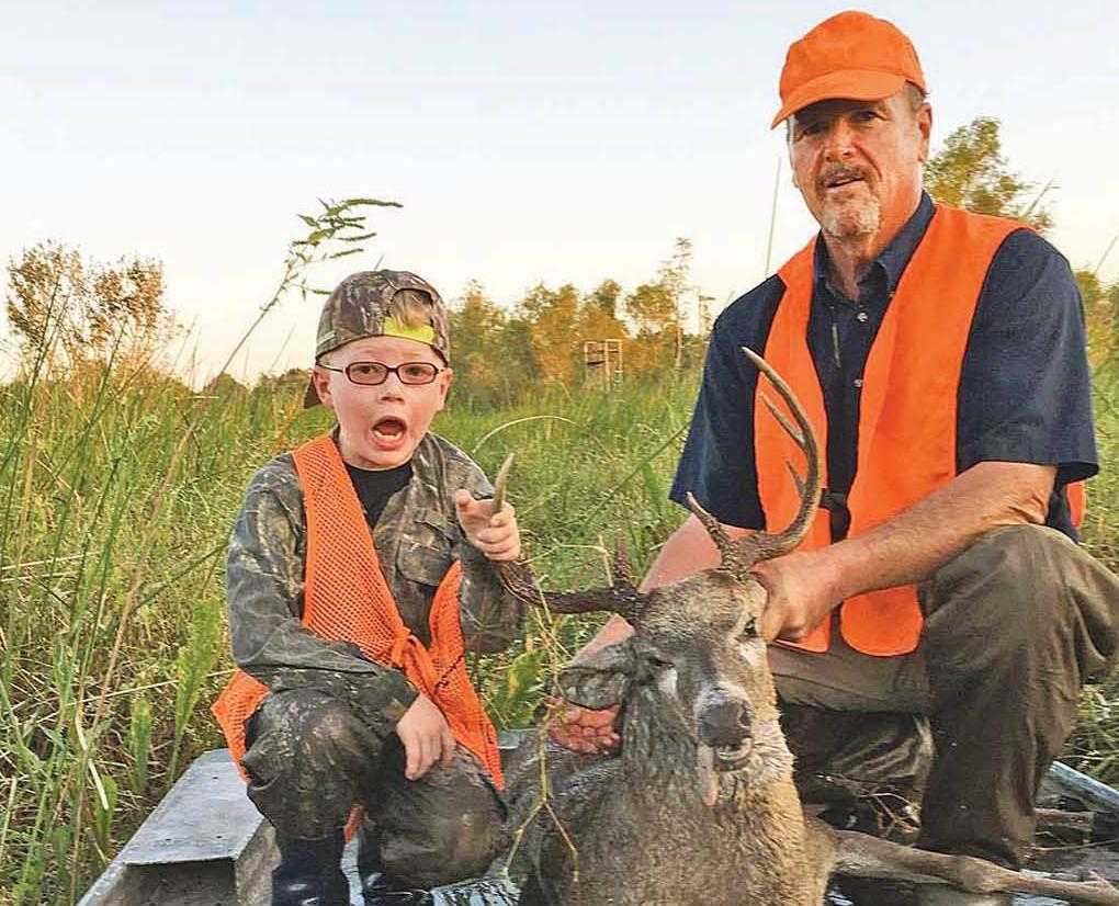 Sawyer says: 'I'll get  a buck' and he does