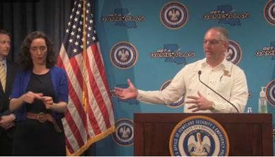 Edwards press conference, 5/11/20