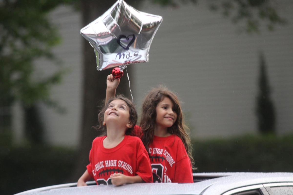 "Catholic High School ""Reverse Parade"""