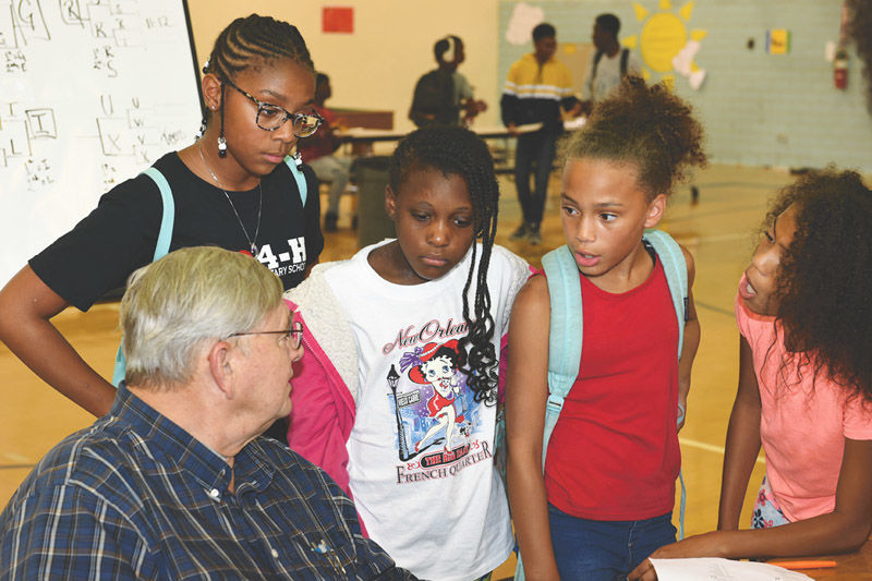 Intense challenges make for a fun afternoon at the Summer Quiz Bowl event