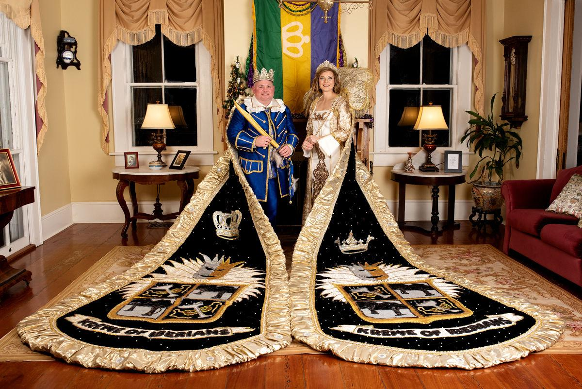 Romero, Faucheaux named 73rd king and queen of Mystic Krewe Of Iberians