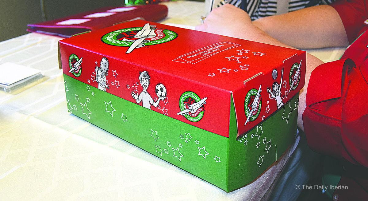 Operation Christmas Child Boxes.Local Church Selected As Operation Christmas Child Site