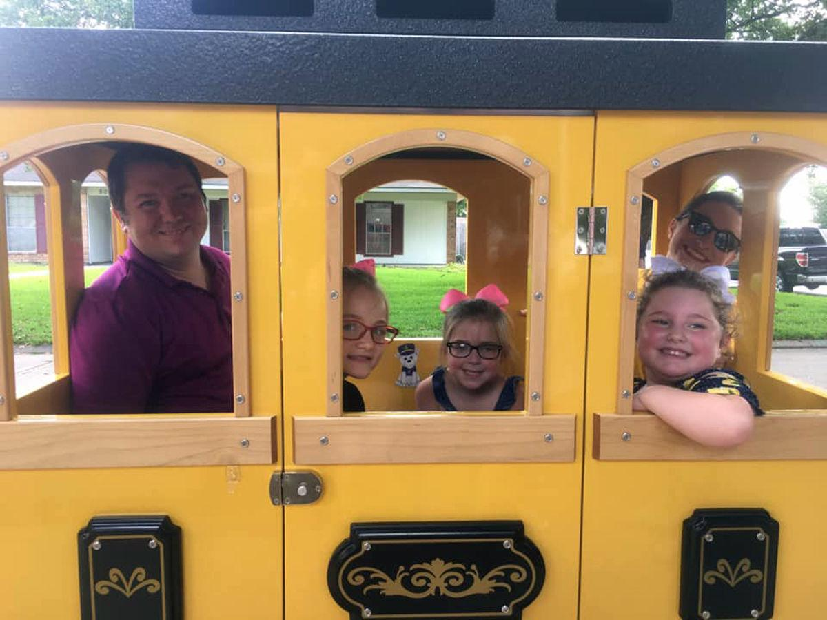 Lemonade stand helps another good cause