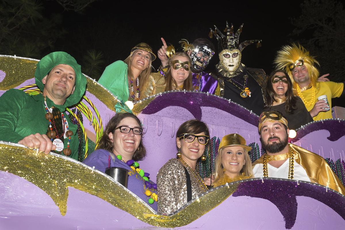Bayou Mardi Gras Association 2017 parade