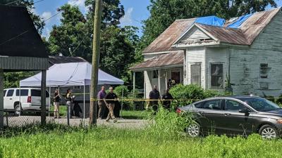 Police investigation on Field Street