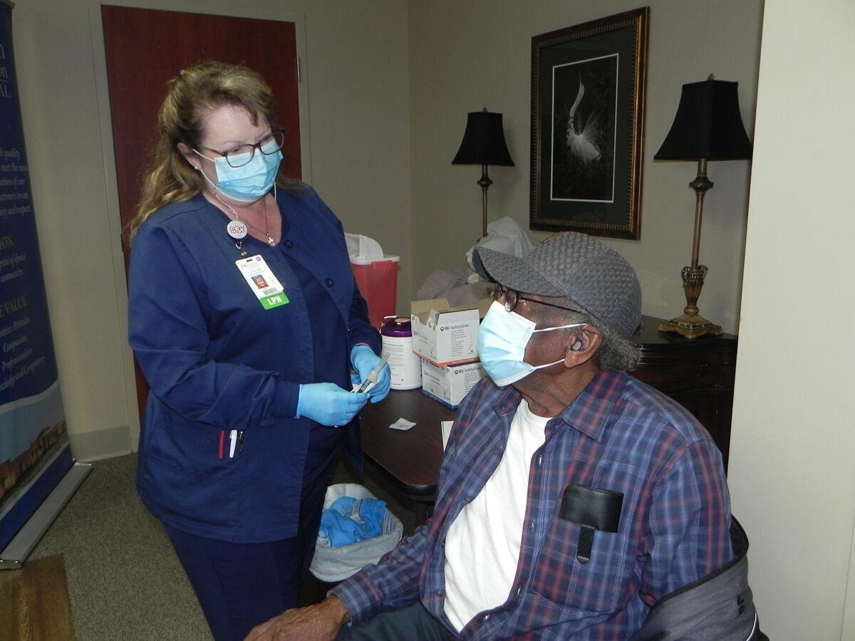 FFH  first St. Mary hospital offering free vaccine for seniors 70 & up