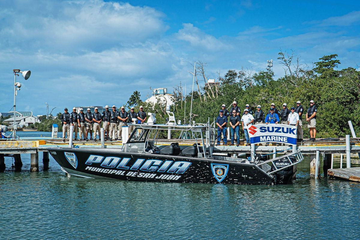 Metal Shark delivers new boat to San Juan police