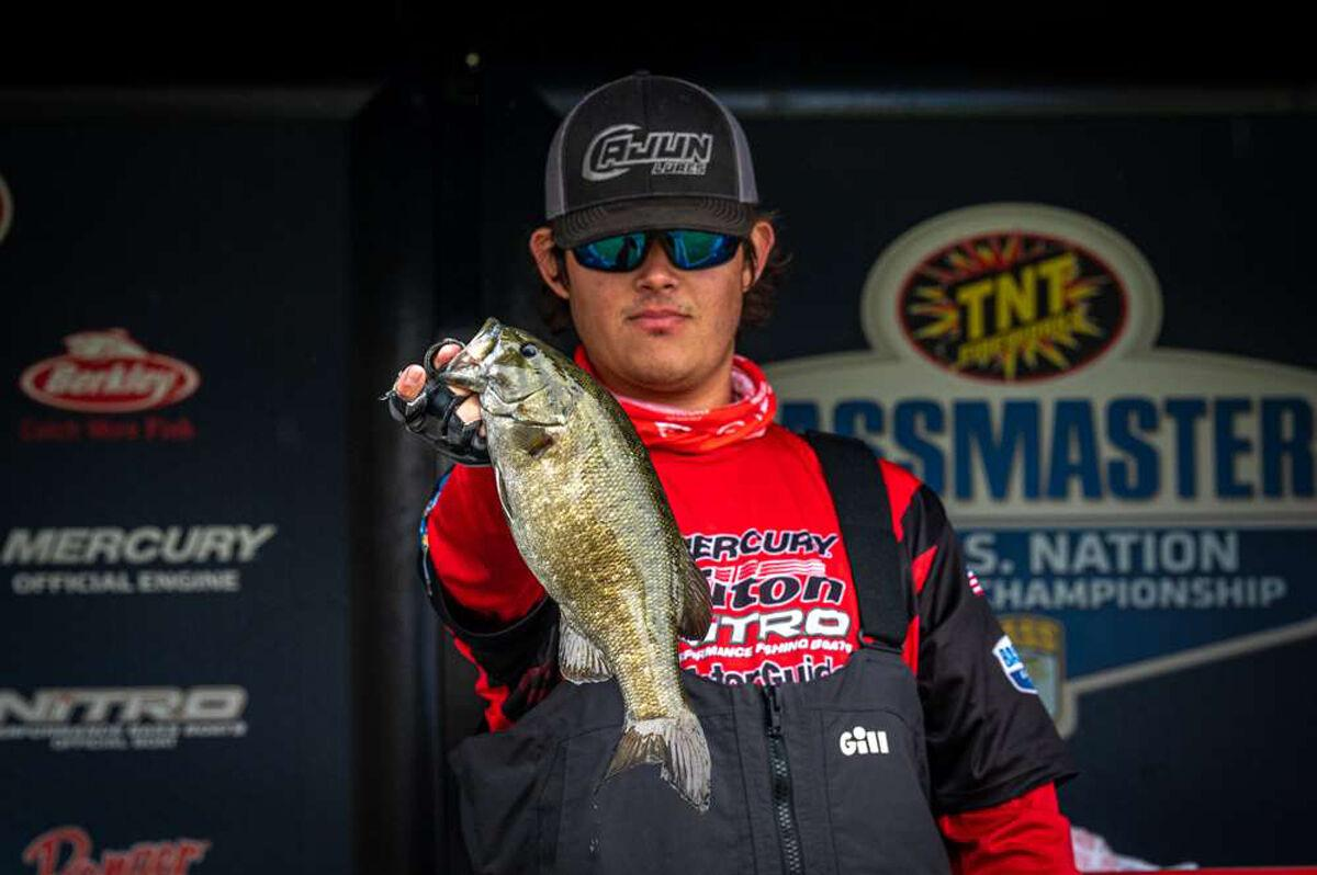 More than a 'smallie' feat for young Neuville as high school angler qualifies for nationals