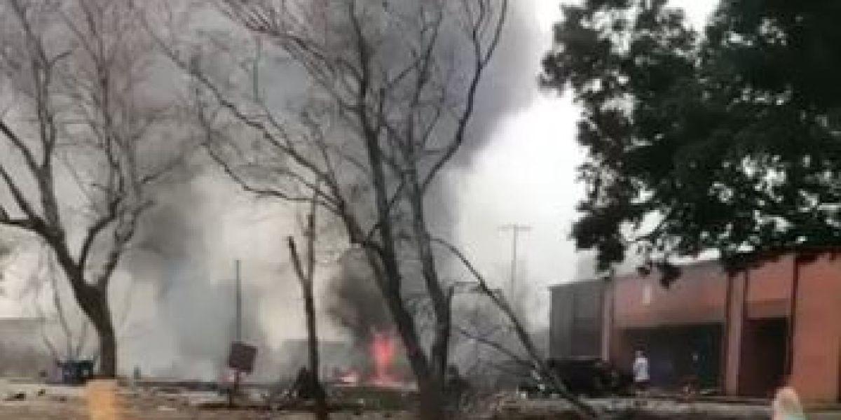 Five dead after Lafayette plane crash