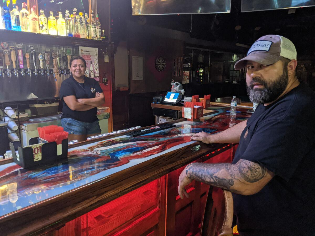 Local bar owners hoping parish hits infection rate levels