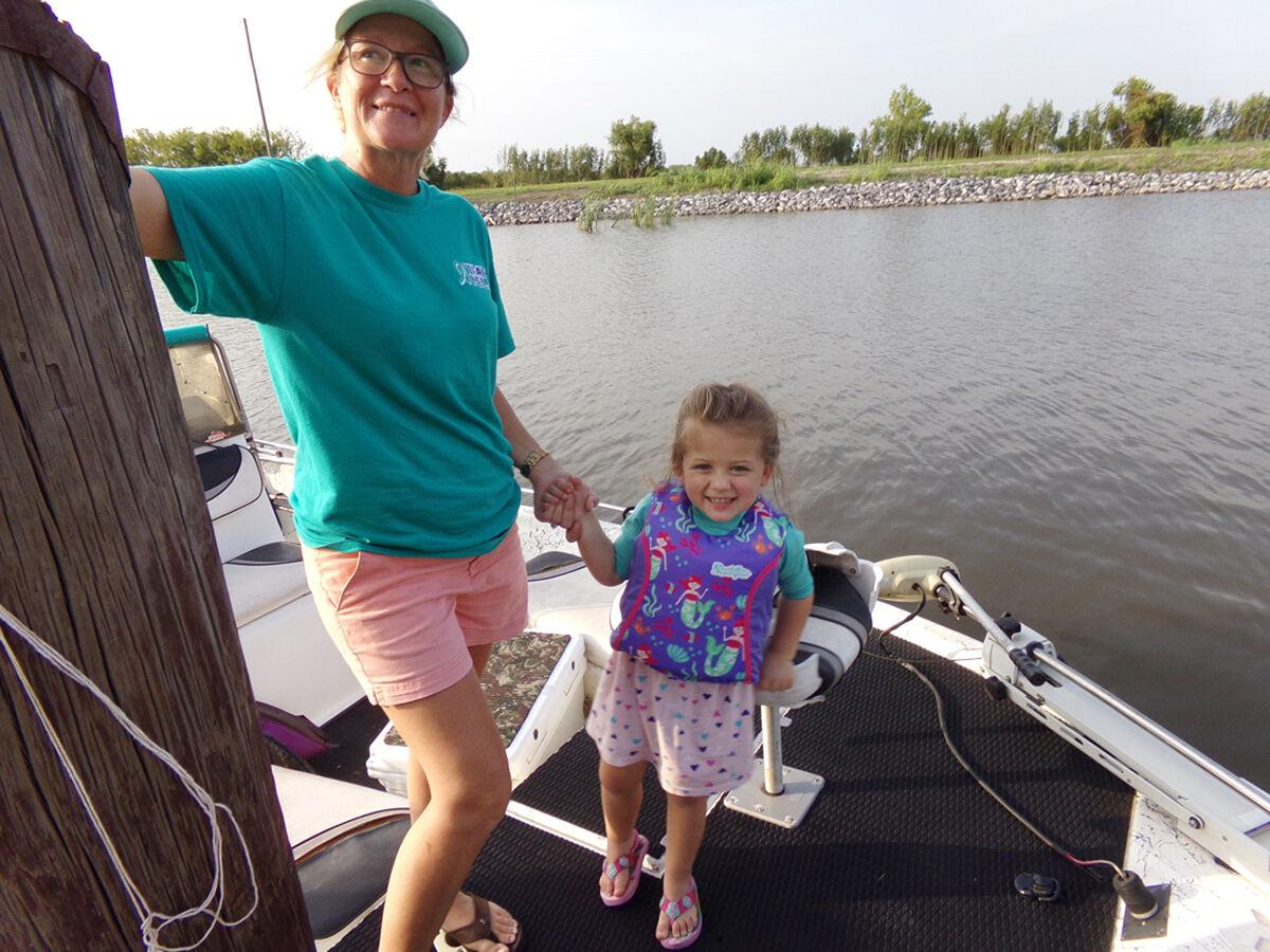 Kids jockey for position on second day of fishing rodeo
