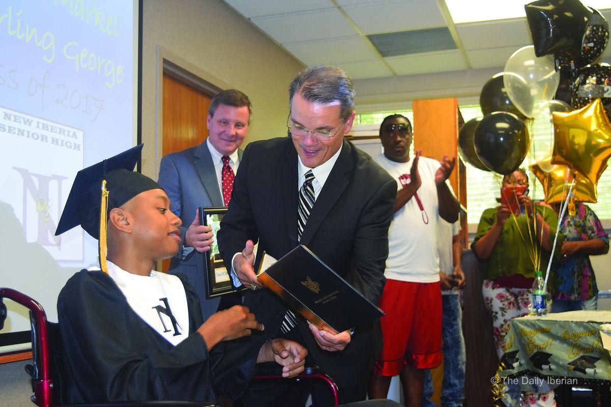 NISH Grad Awarded Diploma In Hospital