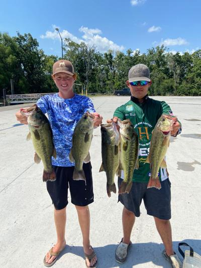 Big limit carries two area teens to win in Louisiana Bass Anglers