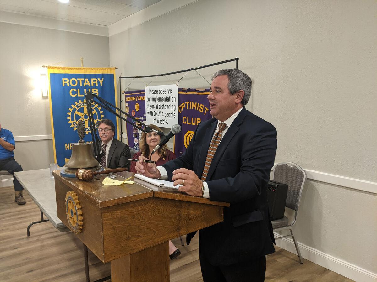 Candidates for Division F judgeship speak at Optimist Club