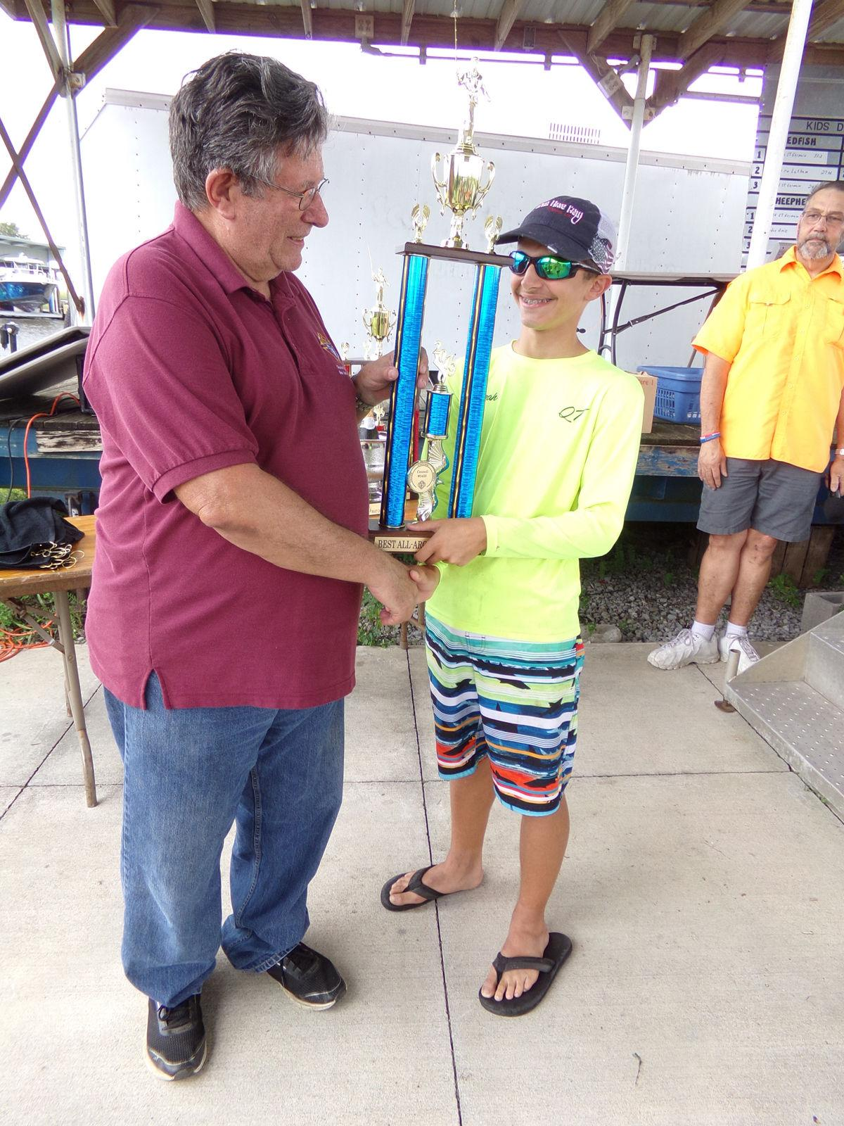 Thinking of family, St. Germain defends Boat Captain title at Kay-Cee Rodeo