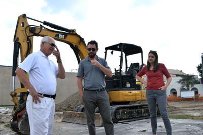 George Rodrigue Park construction underway