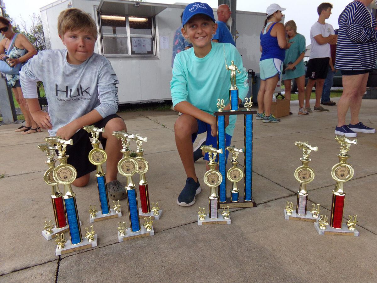 Amy rides fast start to Kids Division Best All-Around Fisherman title