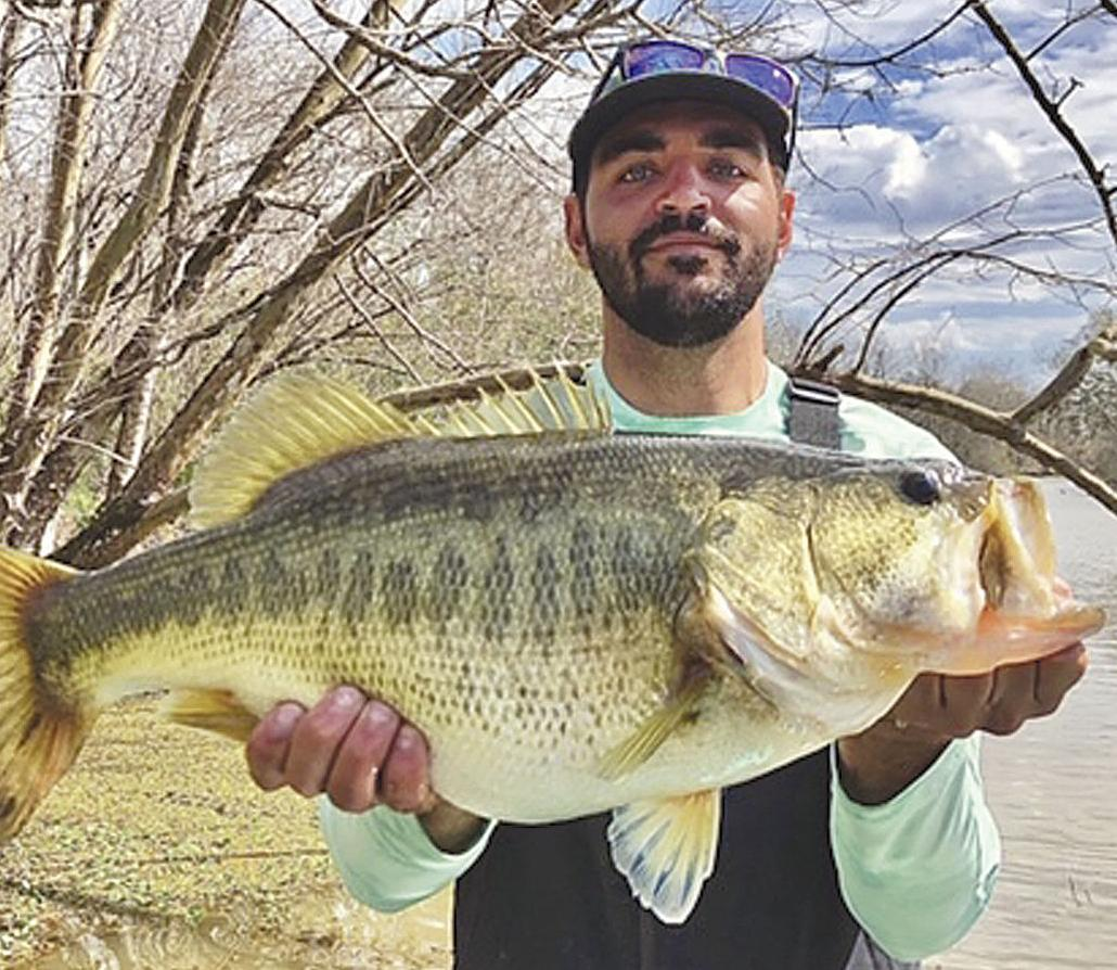 Martin boats 8.17-pound bass on scouting trip in lake