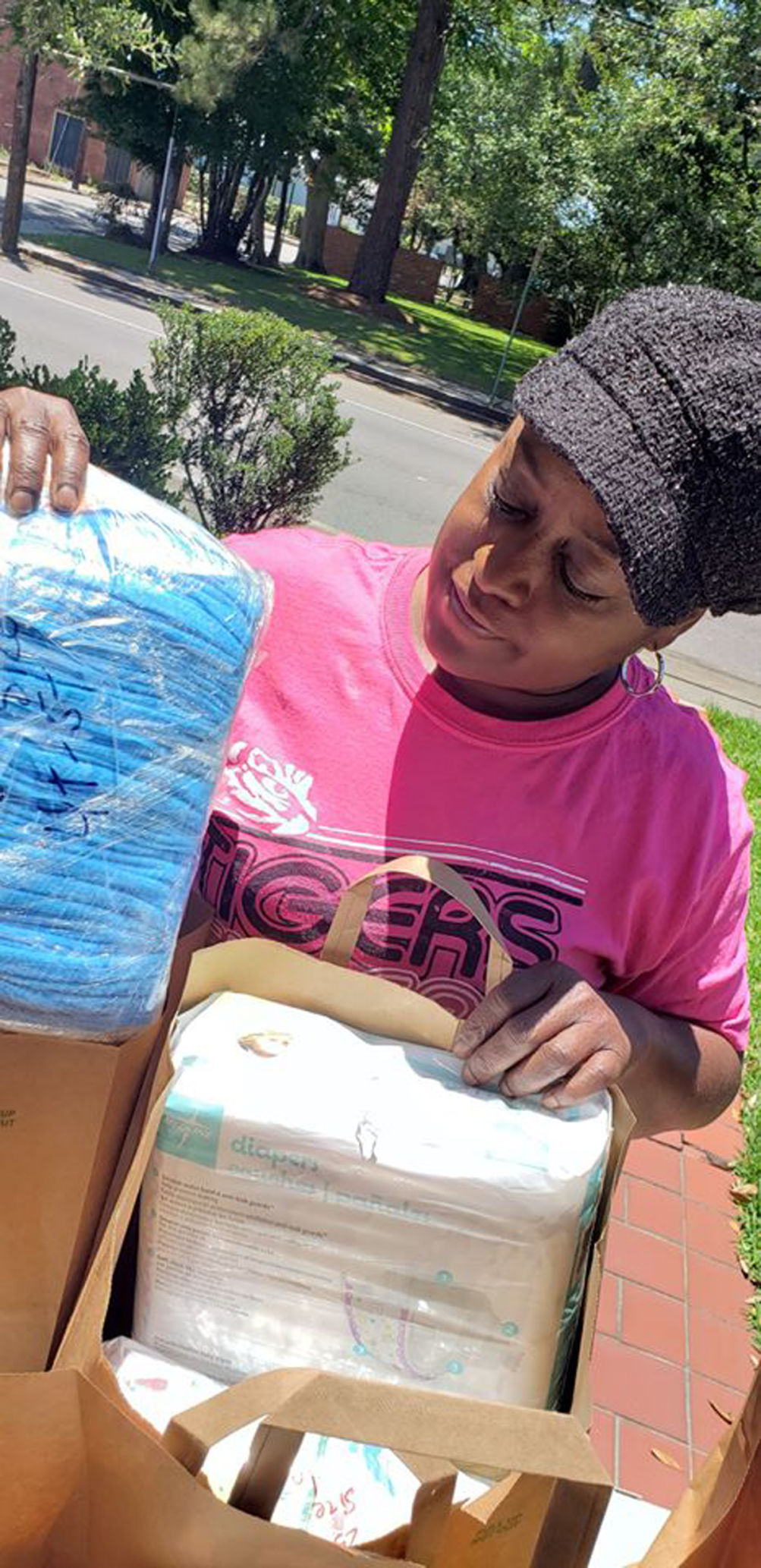 Drive delivers hard-to-find diapers to local residents