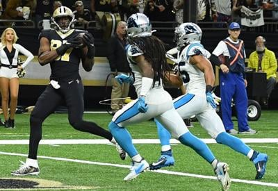 Saints can clinch NFC South title with Thanksgiving victory