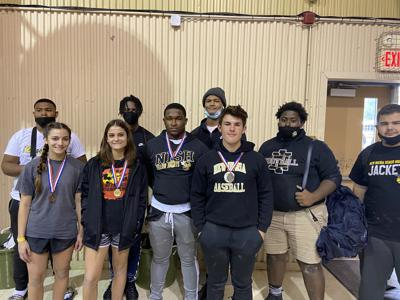 NISH powerlifters compete at CCHS, prepare for regional meet