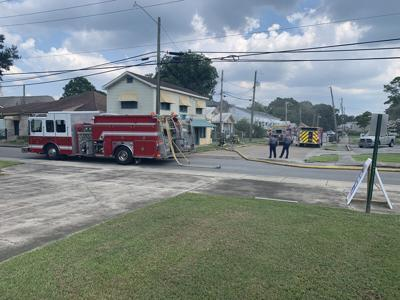 Fire leaves house off Iberia Street with structural damage